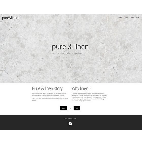 Pure and linen