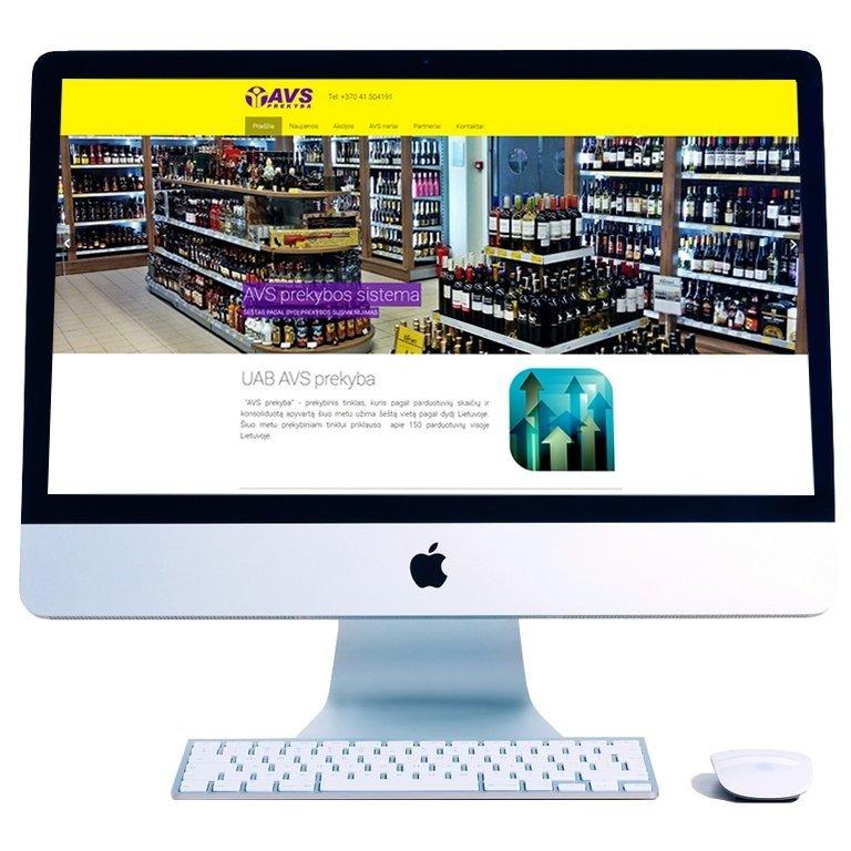 Paprasta internetinė parduotuvė